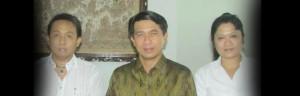 Anjangsana Pemimpin Media Bersama Bupati Klungkung